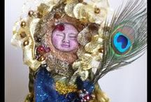 Art Dolls, Spirit Dolls & Mixed Media Sculptures / Nature Spirit Dolls, Medicine Dolls, Fairy Dolls, Goddess Dolls and jewelry Mixed media sculptures inspired by nature, magic and ancient cultures that bring healing and renewal to the soul.