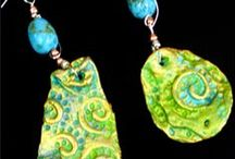Clay Art and Jewelry / Paper clay, Polymer Clay and Natural Clay art, jewelry and sculpture.