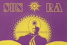 Sun Ra / The boldest Black Eyewear design yet, 'Sun Ra', is dedicated to Sun Ra (1914-1993) pianist, composer and bandleader.  His music ranged from keyboard solos to big bands of over 30 musicians and touched on virtually the entire history of jazz, from ragtime to swing music, from bebop to free jazz. He developed a complex persona using cosmic philosophies and lyrical poetry that made him a pioneer of afro-futurism.  http://blackeyewear.com/sunra/ #blackeyewear #masksunglasses