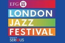 EFG London Jazz Festival 2014 / This year Black Eyewear is lucky enough to be a part of the EFG London Jazz Festival, supporting the very talented, MOBO nominated, musician Peter Edwards.  #blackeyewear #peteredwards #londonjazzfestival