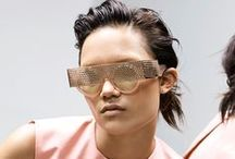 Solace / Black Eyewear collaborates with Solace London, creating bespoke sunglasses to compliment the Tome 6 collection. #blackeyewear #solace www.blackeyewear.com / by BLACK EYEWEAR