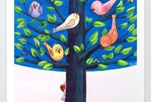 Amazing Art for Kids / Joyful designs for children and all young at heart.