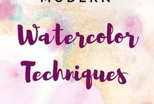 Best Tutorials: Watercolors / Welcome! This board is to share the best WATERCOLOR learning resources, like watercolor lessons step by step, online courses, watercolor tutorials for beginners, watercolor lessons for kids, watercolor techniques, tutorials with watercolor ideas and inspiration, watercolor lettering tutorials, videos how to create watercolor paintings easy, and anything else that fits the board theme (anything not related will be removed). TO BE A CONTRIBUTOR, please send me an email: aga@amazingjourneyart.com