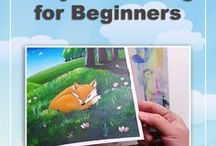 Best Tutorials: Acrylics / Welcome! This board is to share the best ACRYLIC PAINTING learning resources, like acrylic tutorials step by step, acrylic painting lessons for beginners, acrylic painting techniques on canvas, tutorials with acrylic painting ideas, acrylic painting instructions, videos how to create acrylic paintings easy, acrylic online art classes, and anything else that fits the board theme (anything not related will be removed). TO BE A CONTRIBUTOR, please send me an email: aga@amazingjourneyart.com