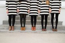 Black and White Stripes / I love black and white stripes