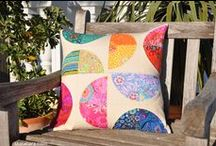 Quilts (I have made) / My recently finished patchwork pieces, most of them can be found on Etsy and Dawanda  / by barbora