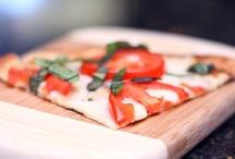 vegan foodie (v. pizza & savory tarts)