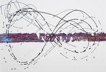 Linien   lines   lignes / by Eric Decastro