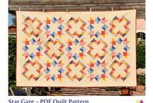 Quilt Patterns / PDF patterns and tutorials for patchwork and quilting projects / by barbora