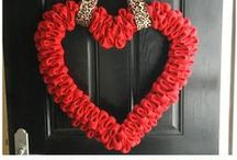 Holidays:  Valentines Day / Valentine's Day crafts, gift ideas, home decor, and decorating.