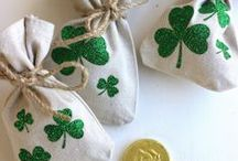 Holidays:  St. Patrick's Day / St. Patrick's Day crafts, home decor and decorating.