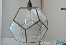 DIY:  Light Fixtures / DIY Light Fixtures for Home Decor