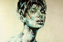 paint - portrait / figures