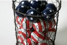 Holidays:  Patriotic / Memorial Day, 4th of July crafts, home decor, decorating, crafts
