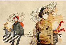 handmade / collage / grunge