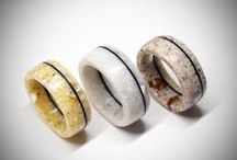 Ready made rings / Antler, bone, wood and acrylic stone rings. Designed and carved by me. Wedding rings, Men ring, Women ring, Band ring, Engagement rings, Promise ring