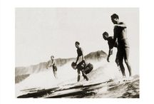 {vintage surf} / vintage . surf . Beach Boys . surfing . tropical . wave . sand . hang ten . surf's up . Hawaii . Hawaiian . surfer . waves . pipeline . shore .