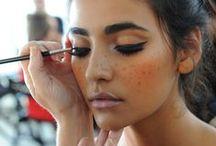 Makeup. / by Meghan Peck