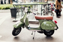 Lovely VESPA / Going back in the past to ride a piece of story: VESPA