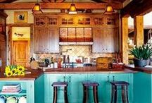 A House - Beautiful Kitchen / Bless the food before us, the family beside us, and the love between us. / by Andrea K