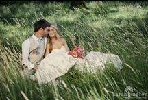 Backyard Weddings Photographed by Sarah Maren Photography / Backyard weddings as photographed by Sarah Maren Photography.