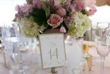 Wedding: Table numbers and seating arrangement ideas