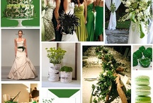 Wedding Inspirations / Gold, Emerald Green and/or Aqua Green color schemes / by Peggysus Fly