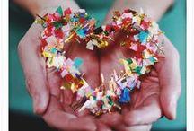 Valentine's Day Ideas & Crafts / by Leslie K