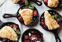 R ... Recipes - Pies, Cobblers, Tarts & Crumble