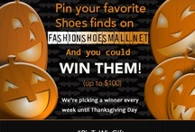Pin To Win It / Pin your favorite beat finds on Fashionshoesmall.net