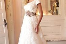 Wedding Wear... / A collection of modest wedding dress or dresses that can be easily altered to be modest.  / by Danielle Brooks