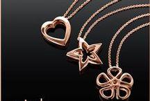 Pink / Κοσμήματα από ροζ επιχρυσωμένο ασήμι 925 / by Li-LA-LO Jewels