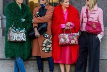 Fashion   Streestyle / Outfit inspiration from Paris  New York    Milan and London fashion week .