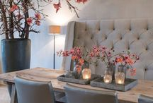 Dining Room / Inspiration and Ideas for creating a modern and beautiful dining room.