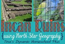 Ge-og-ra-phy {Earth Writing} / Studying Geography. Hands-on ideas and free geography printables. Homeschool geography unit study.  #homeschoolgeography  / by Tinas Dynamic Homeschool Plus
