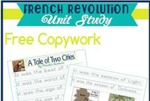 Copywork {free} / Free copywork. A very valuable skill in helping both young and older struggling homeschool writers.  #homeschoolcopywork.