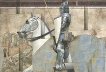 Knights in Shining Armour! / by Lesley West