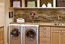 Laundry Room Ideabook / Gather photos of Laundry Rooms that you think are, WOW!  That is the best way to plan for a remodel, to gather pictures to show what you DO like, and what you don't!