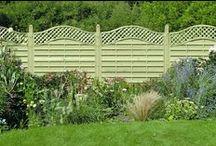 Garden Fences, Arbors & Walls / Fences, trellises, arbors, walls, privacy screens, etc in the garden