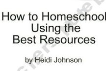 Homeschool Resources & Misc Ideas