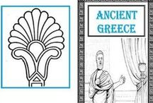 Ancient Greece / Study of Ancient Greece for homeschool kids. Ancient Greece unit study. #handsonhistory #freehistoryprintables