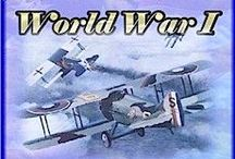 WW I: {1914-1918} Learn / Homeschool ideas for studying about World War I. Any and all printables, books, sites and events relating to educating students about World War I.