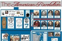 American Revolution/Early American History ♛ / From forming the colonies to the American Revolution to Modern American History. Homeschool history, home school unit study. Early American History. #handsonhistory