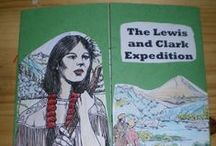 Lewis & Clark )------» / Lewis and Clark Unit. Expedition from 1804 to 1806. Free Lewis and Clark Lapbook. Ideas for hands on history unit study. #homeschoolhistory #lewisandclark