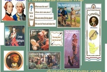 French & Indian War 1754-1763 / French and Indian War unit study for homeschool kids. #homeschoolhistory #frenchandindianwarforkids #freeprintables