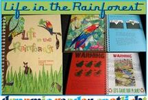 Amazon Rainforest / Free Amazon Lapbook and Amazon rain forest unit study idea. Home school ideas, free printables and crafts for a unit study of the Amazon Rain Forest. #Amazonrainforest #rainforestlapbook