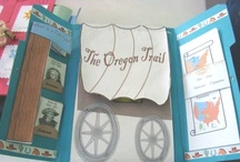 Westward Hooooo / Free Oregon lapbook and unit studies for homeschooll history. Activities and educational printables for learning about the Westward Ho movement for kids. {Time period we covered 1803 to 1890}