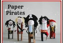 Pirates / Free homeschool unit study and homeschool Pirates lapbook. Free resources, ideas and printables for teaching Pirates as a history unit study. Pirates unit study and ideas for hands on too.