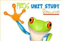Loads of Toads & Frogs / Learning about toads and frogs. Homeschool unit study about frogs and toads. Free frog lapbook. #frogs #homeschoolscience #froglapbook