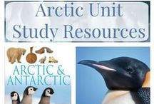 Arctic/Inuit/Land Up North / Free home school unit study on the Arctic or Inuit. #handsonhistory,
